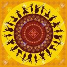 18210719-illustration-of-Indian-classical-dancer-Stock-Vector-indian-dance-india
