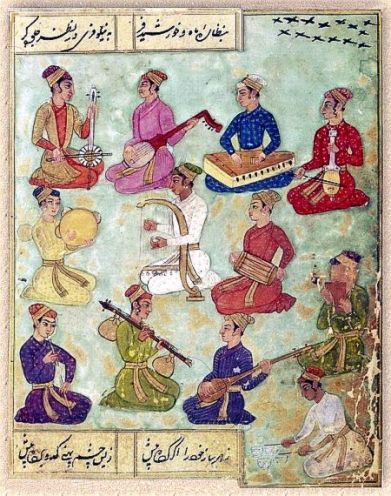 Indian Music Moughal court
