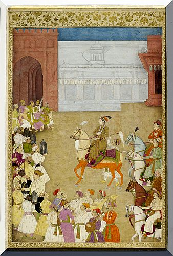 wedding procession of Dara Shikoh
