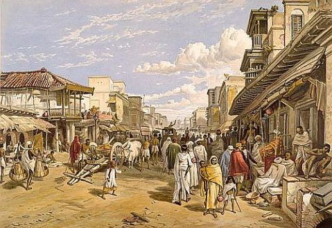 Calcutta Chitpore road 1867