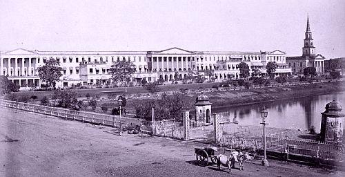 calcutta Dalhousie Square 2, Calcutta - 1878