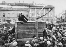 Lenin WITHOUT Trotsky and Kamenev