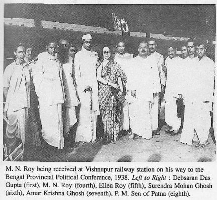 M N Roy Bengal Provential congress 1938
