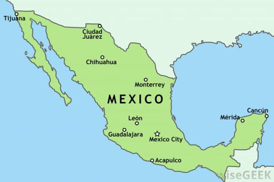 mexico-on-map