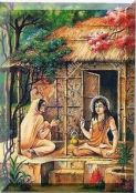 kapila teaching his mother