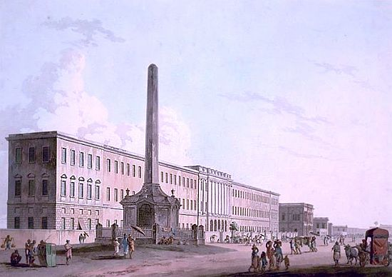 calcutta writers building 1882