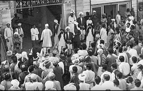 Malaviya auctioning Nizam's shoe 1911