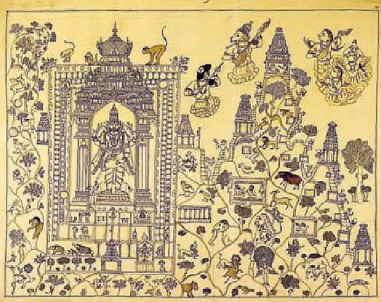 Tirupathi drawing 1804