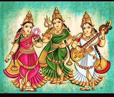 Lakshmi Sarasvathi Kali