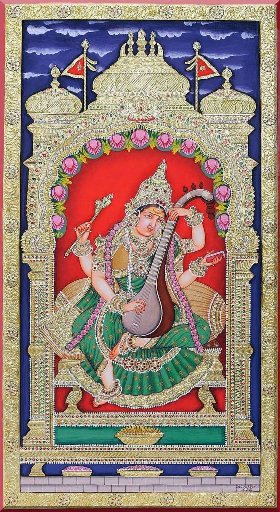 sarasvathi Mysore style