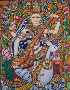 Sarasvathi with Kamandalu2