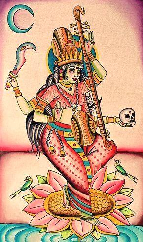 Tantric Sarasvathi