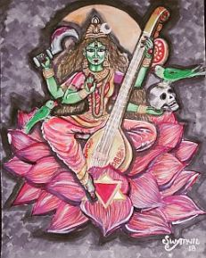 Tantric Sarasvathi2