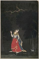 Abhisarika-nayika