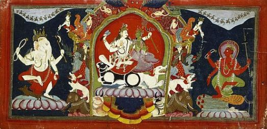 Cover_of_a_Shakta_Manuscript_with_Uma-Maheshvara_