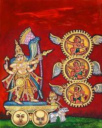Tripurasura samharam