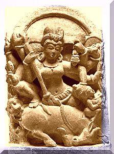 Devi Chamunda sepia