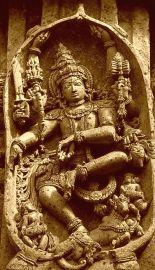 Shiva dancing Halebidu