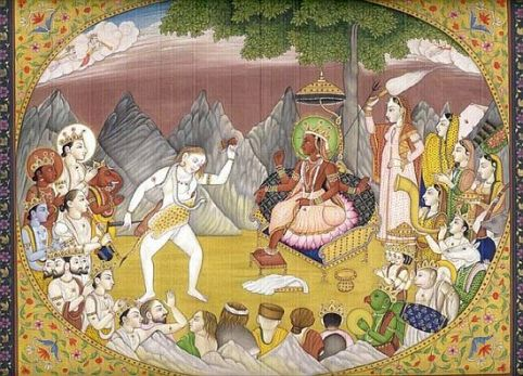 shiva_dancing_for_parvati