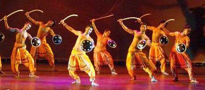 Chhau-Dance