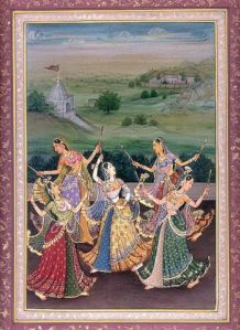Maidens Performing The Ecstatic Dance