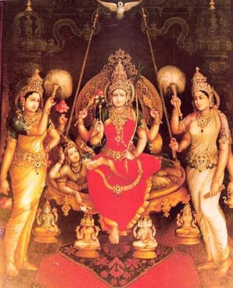 Sri Raja-Rajeshwari by Shipi Sri Siddalingaswamy of Mysore