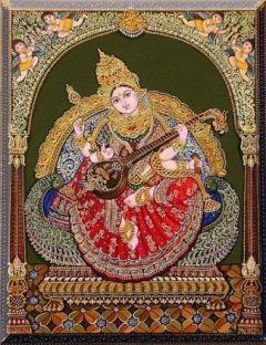 sarasvathi-tanjore